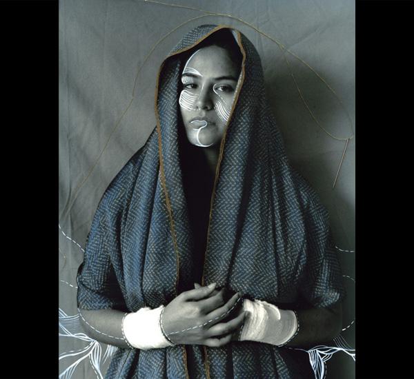 Série La résistance de la foi, <em>Vierge absente cousue</em>