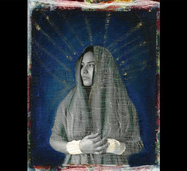 Série La résistance de la foi, <em>Vierge absente couverte des pansements</em>