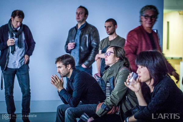 Galerie R3 / 8 octobre 2015 / Photo Martin Savoie