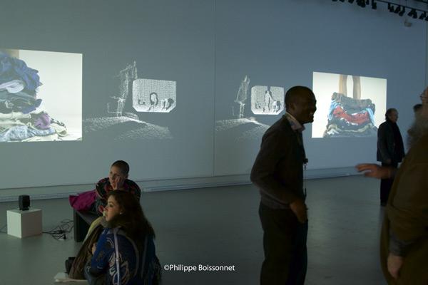 Galerie R3 / 8 octobre 2015 / Photo Philippe Boissonnet