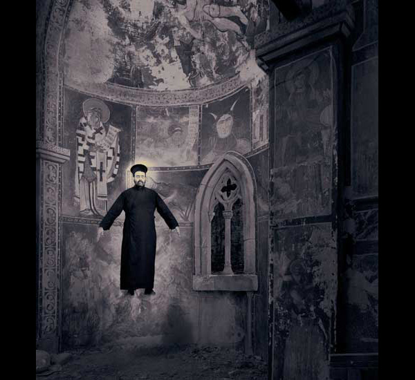 Le Miracle de la lévitation, de la série Miracles & Co, 2002, By Joan Fontcuberta, © Joan Fontcuberta