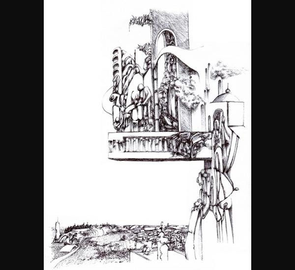 Xavier Lambert, dessin 75