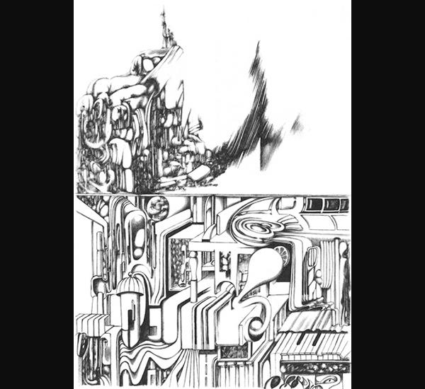 Xavier Lambert, dessin 80