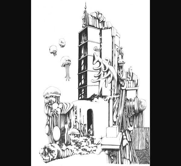 Xavier Lambert, dessin 87