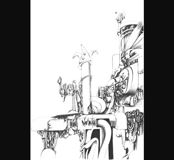 Xavier Lambert, dessin 90