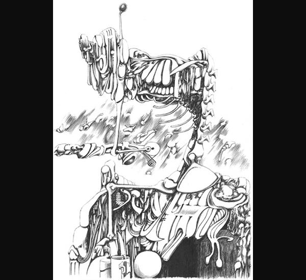 Xavier Lambert, dessin 91