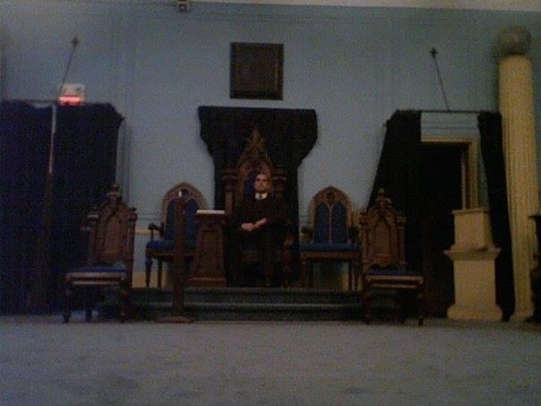 Conséquences bibliques à la représentation, 2006, photo anonyme