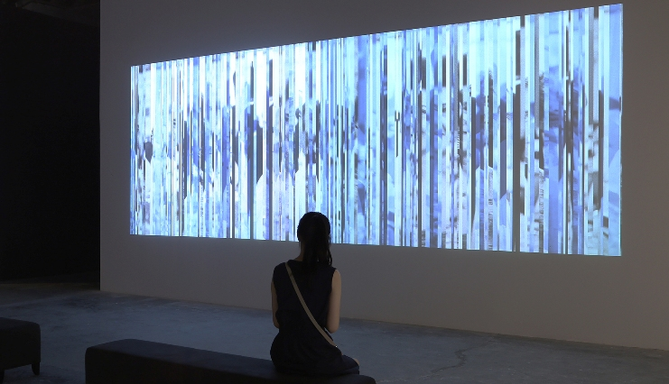 George Legrady, Interactive Algorythme, 2010