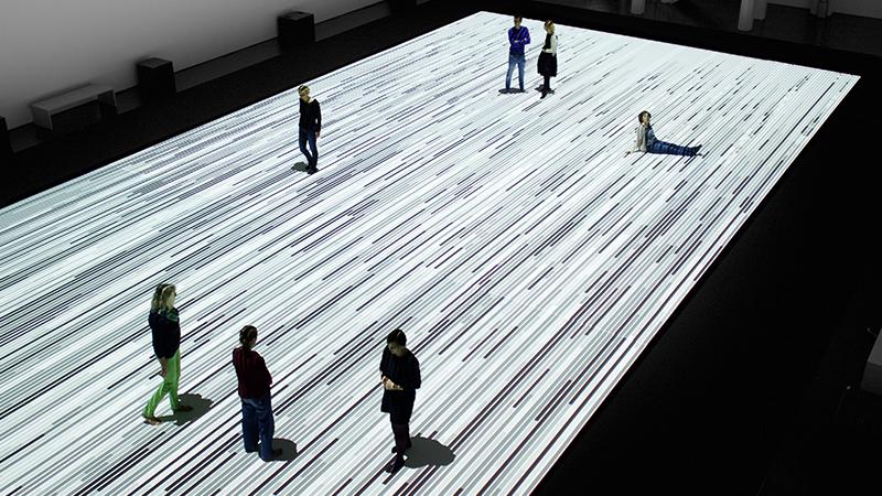 Ryoji Ikeda, The Plank Universe, 2016