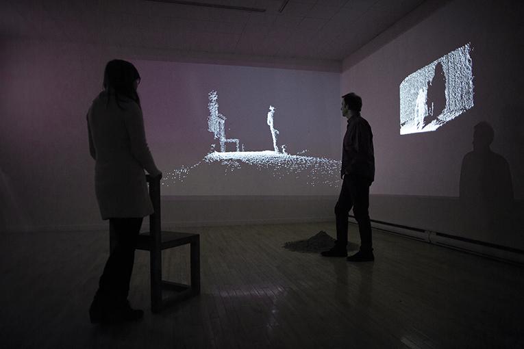Jean-françois Côté et Slobodan et Slobodan Radosavljevic , Habiller le temps, dénuder l'espace, 2015